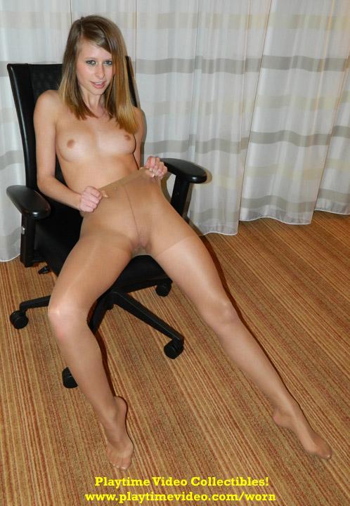 Lauren Pantyhose Pussy 89