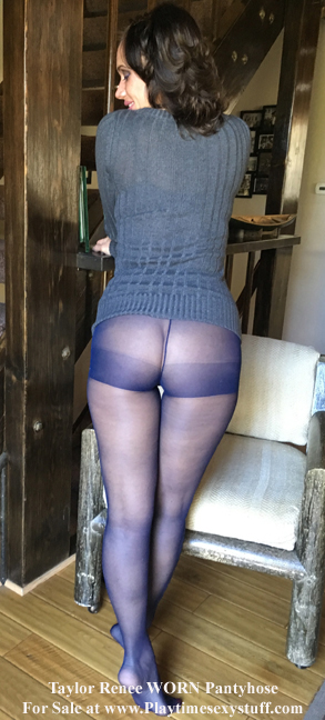 cum stained pantyhose
