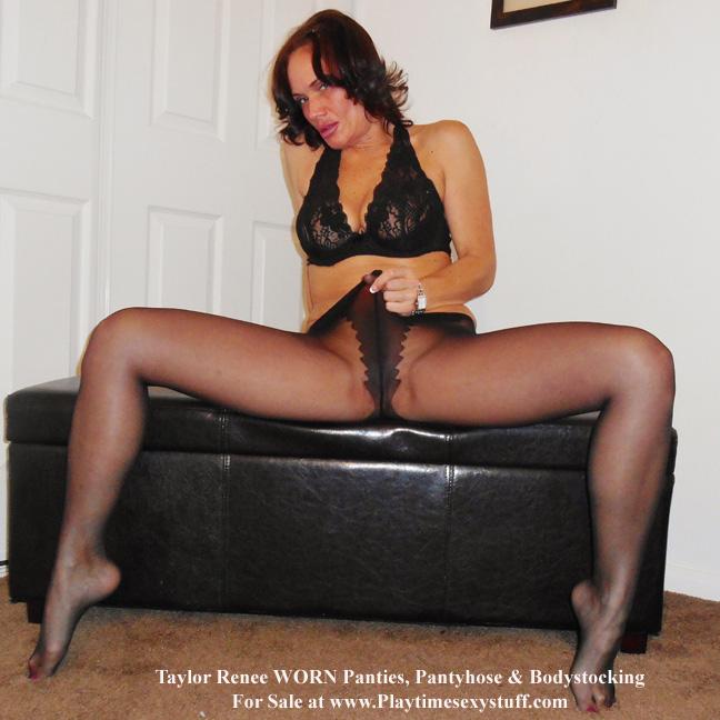 Renee in pantyhose