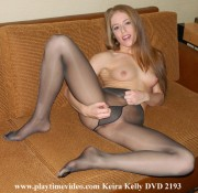 Keira Kelly Jerk Off Encouragement Pantyhose DVD 2193