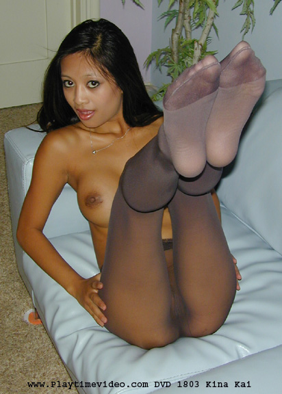 Fucking sexy kina kai pantyhose you