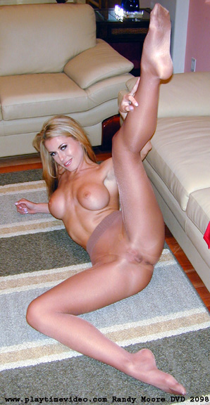Randy moore pantyhose jerk off