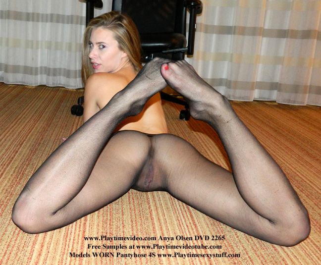 feet grey pantyhose