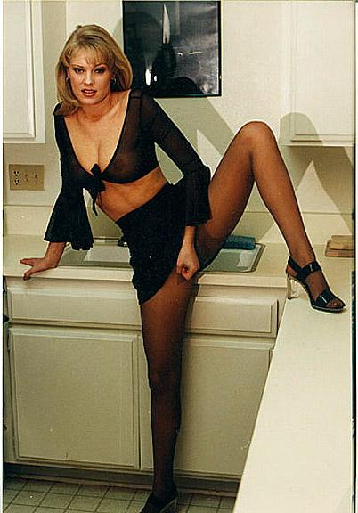 jennifer george in pantyhose