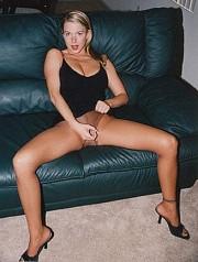 Sydney Moon Jerk Off Instruction Pantyhose #2  DVD 0584